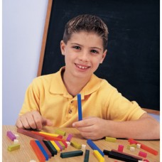 Cuisenaire® Rods, Small Group Set, Plastic, Set of 155