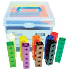Multi-Link (Snap Link) Cubes,Set of 1000 pcs in storage containe