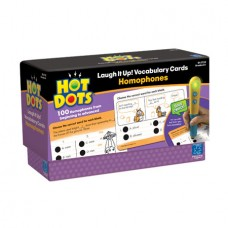 Hot Dots® Laugh it Up! Vocabulary Development Cards - Homophones