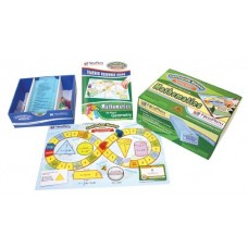 All About Geometry Curriculum Mastery® Game - Grades 3 - 6 (Class Pack)
